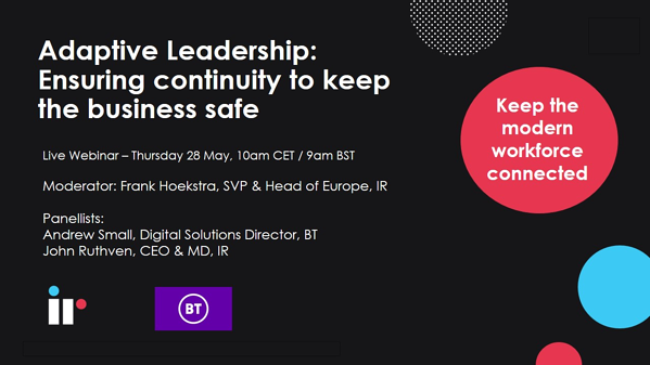 Adaptive Leadership Ensuring continuity to keep the business safe