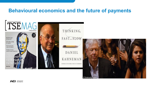 Behavioural Economics and the Future of Payments