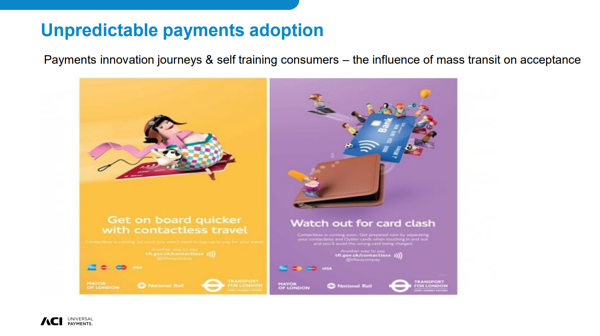 Unpredictable Payments Adoption