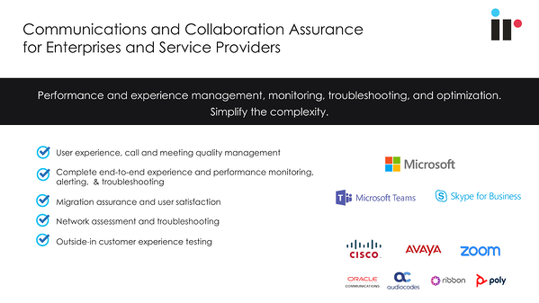 communications and collaboration assurance