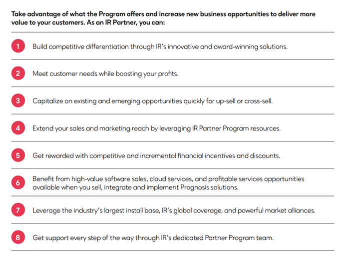 Partner Program benefits