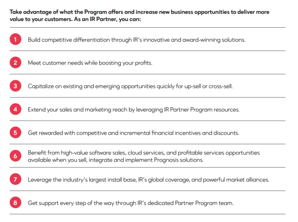 Partner Program benefits