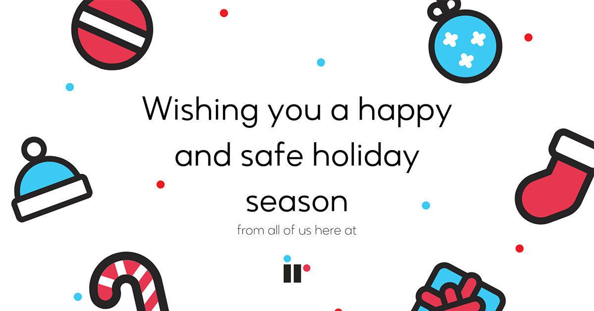 A holiday message from the IR Tribe