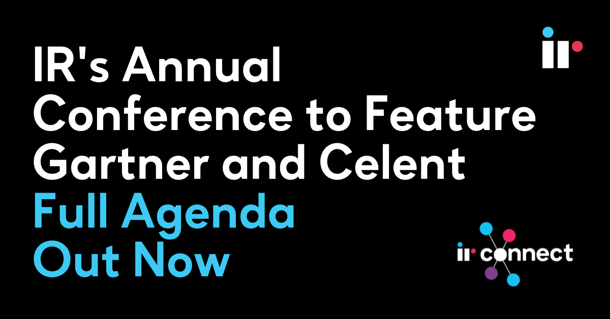 IR's Annual Conference to feature Gartner and Celent - Full Agenda Out Now
