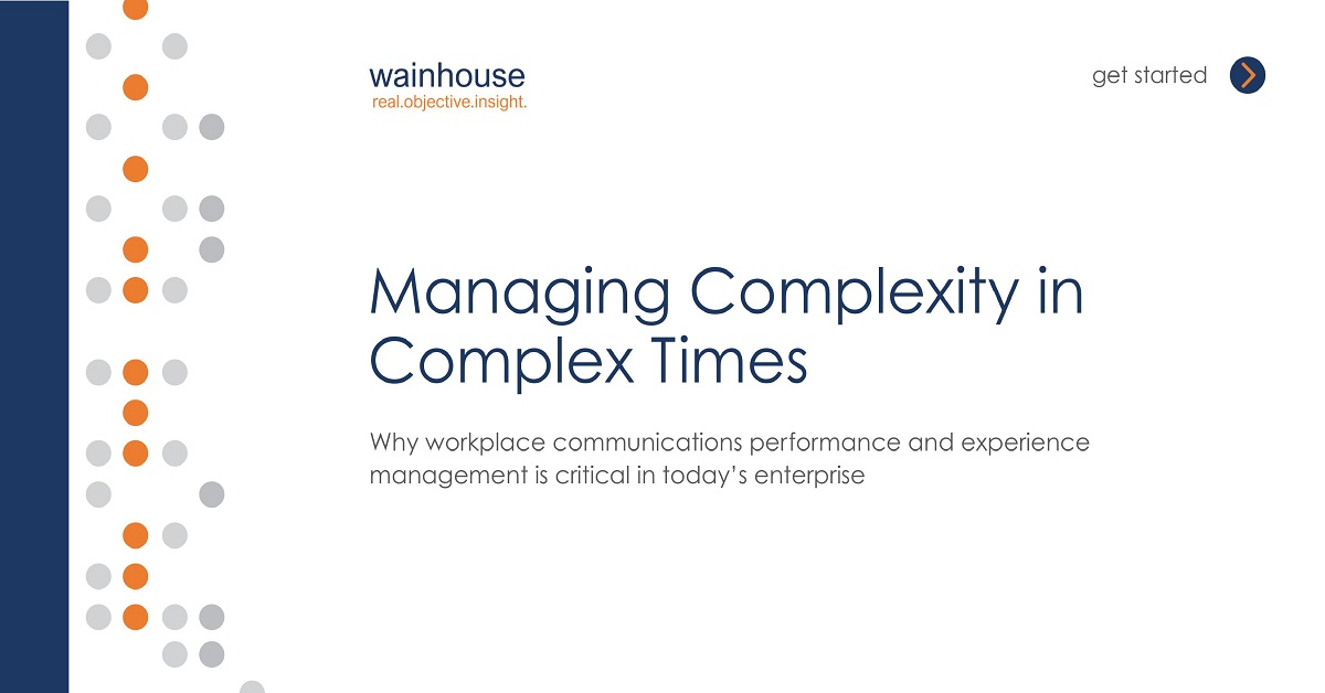 Managing UCC Complexity in Complex Times