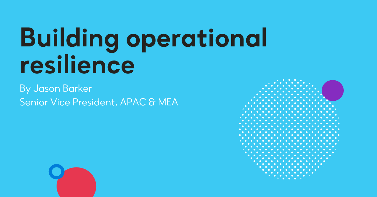 Building operational resilience