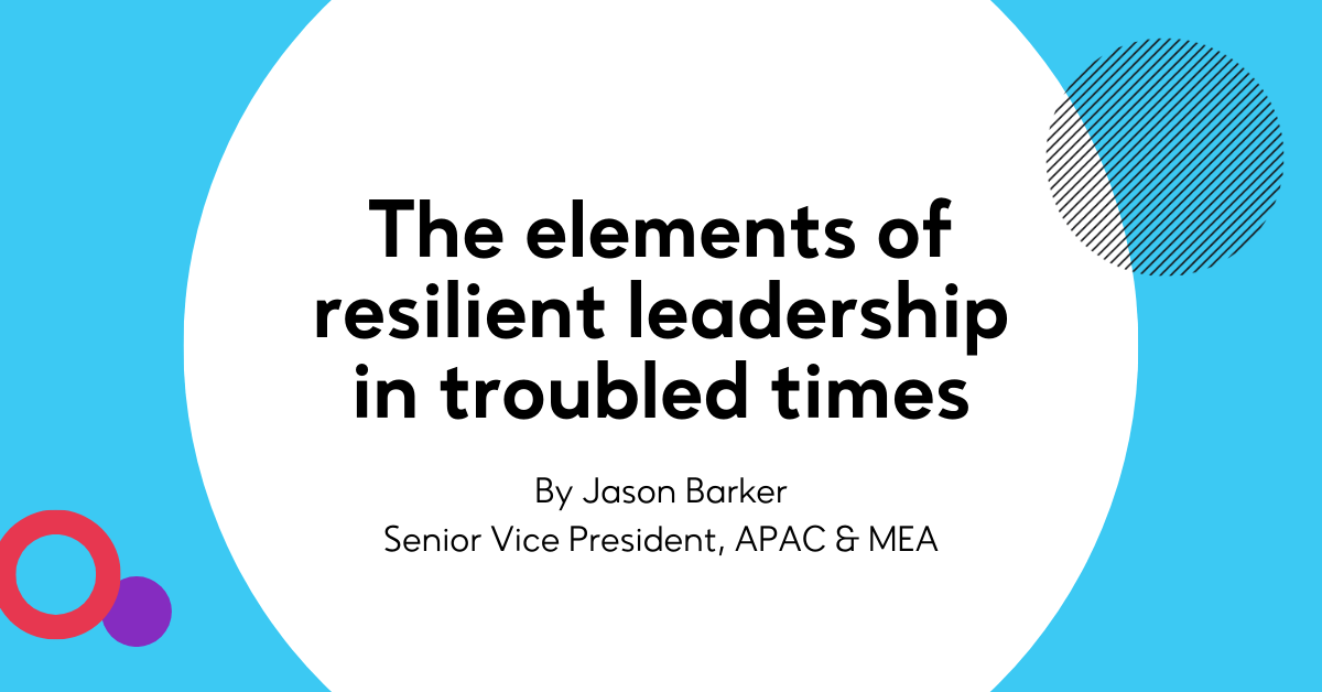 The elements of resilient leadership in troubled times