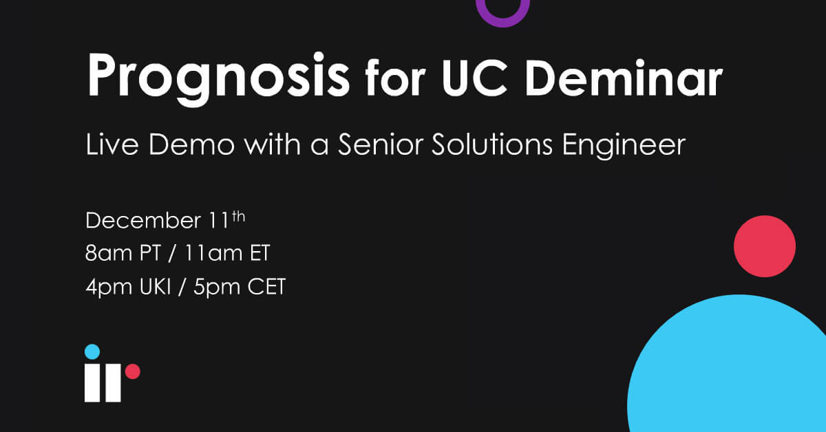 Prognosis for UC Live Demo [December 2019]