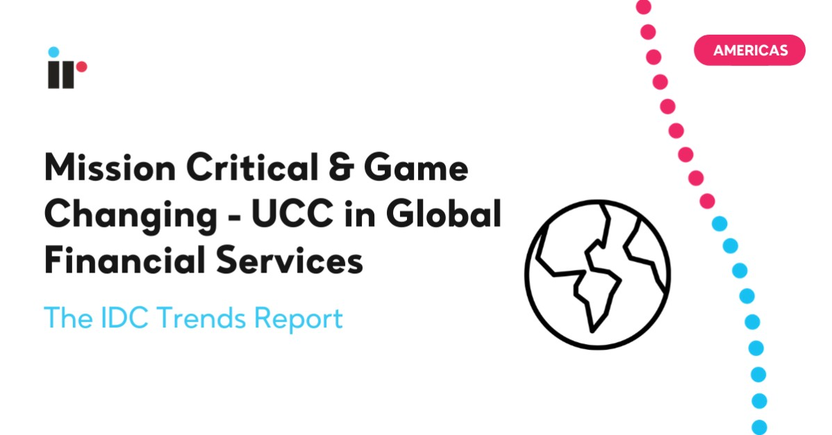Mission Critical: UCC in 2021 For Financial Services